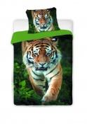 Bavlněné povlečení s motivem tygra Jerry Fabrics