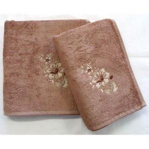 ručník Paloma oříškový, rozměr 50x100 cm.