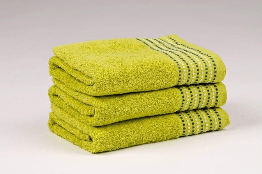 Ručníky a osušky TOVEL 500 g/m2 ručník zelený rozměr 50x90 cm.