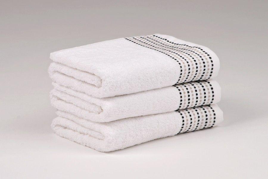 Ručníky a osušky TOVEL 500 g/m2 ručník bílý rozměr 50x90 cm.