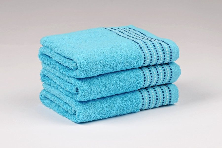 Ručníky a osušky TOVEL 500 g/m2 ručník tyrkysový rozměr 50x90 cm.