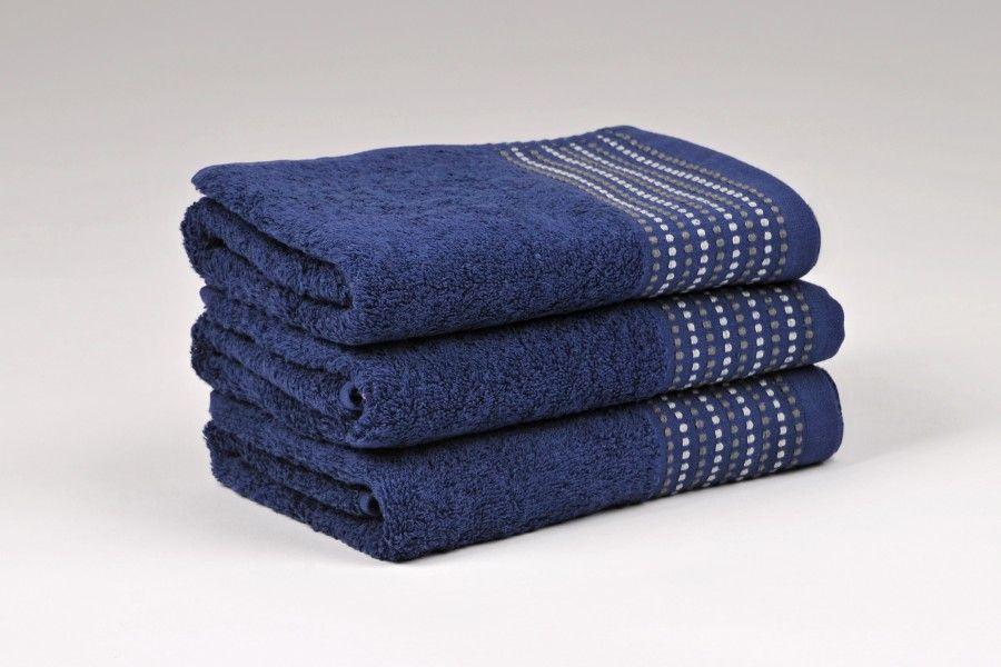Ručníky a osušky TOVEL 500 g/m2 ručník modrý rozměr 50x90 cm.