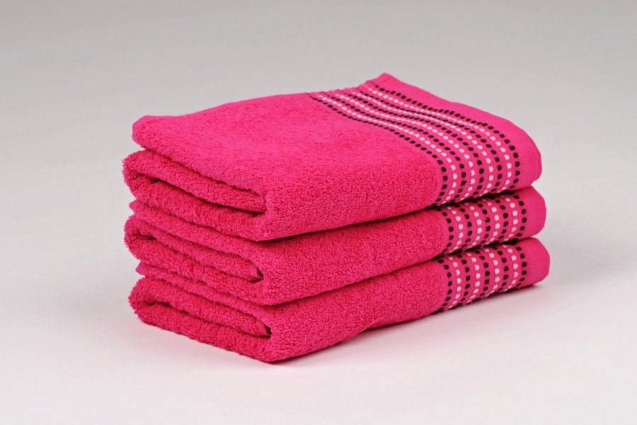 Ručníky a osušky TOVEL 500 g/m2 ručník purpurový rozměr 50x90 cm.
