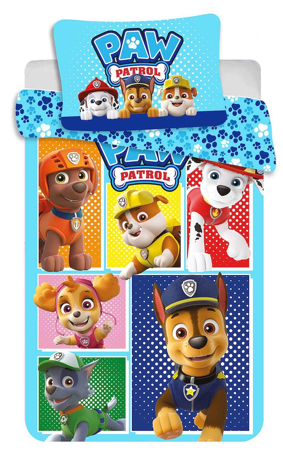Disney povlečení do postýlky Paw Patrol 184 baby Jerry Fabrics