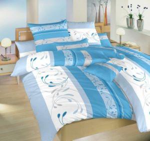 Povlečení bavlna Slezsko modré 240x200, 2x70x90 cm