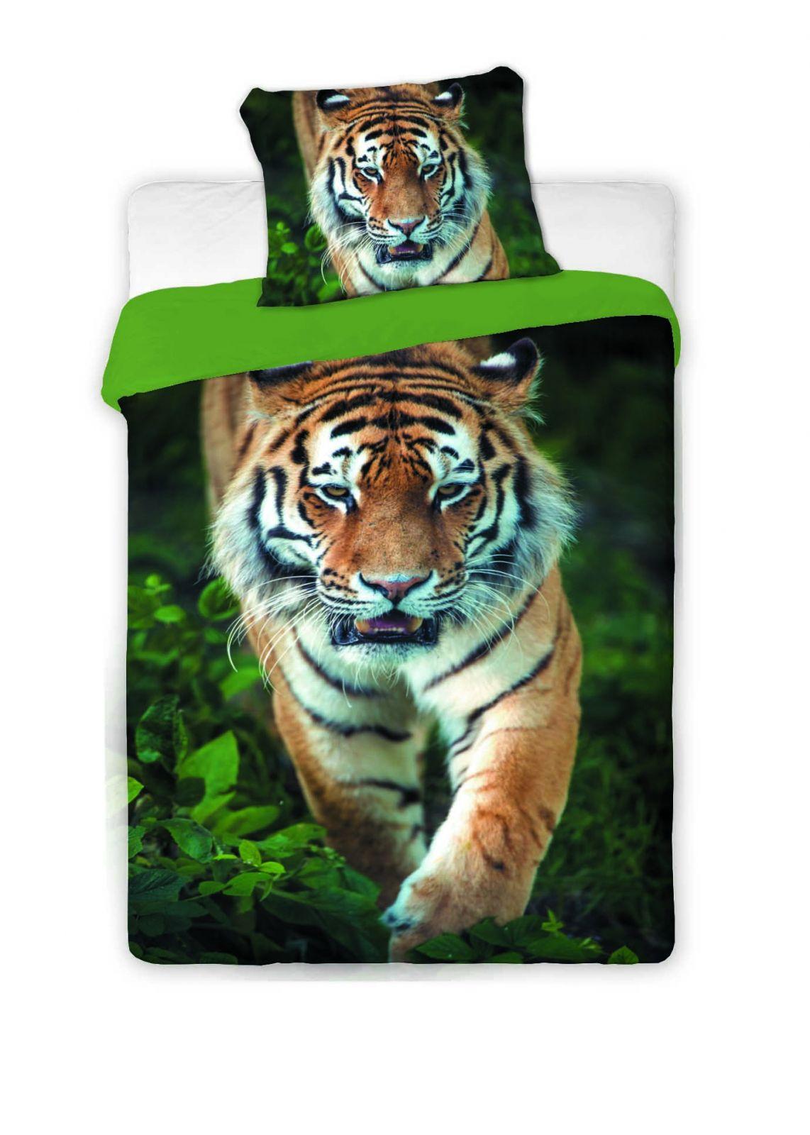 Povlečení fototisk Tygr 2016